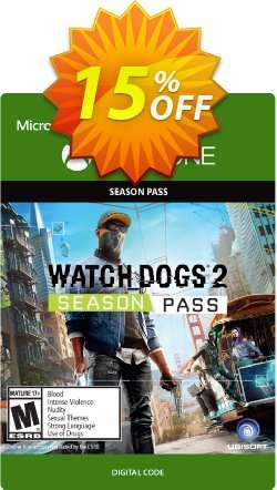 Watch Dogs 2 Season Pass Xbox One Coupon discount Watch Dogs 2 Season Pass Xbox One Deal - Watch Dogs 2 Season Pass Xbox One Exclusive Easter Sale offer for iVoicesoft