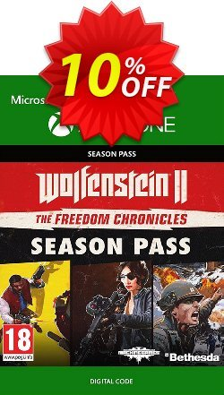 Wolfenstein 2: The Freedom Chronicles Season Pass Xbox One Coupon discount Wolfenstein 2: The Freedom Chronicles Season Pass Xbox One Deal - Wolfenstein 2: The Freedom Chronicles Season Pass Xbox One Exclusive Easter Sale offer for iVoicesoft