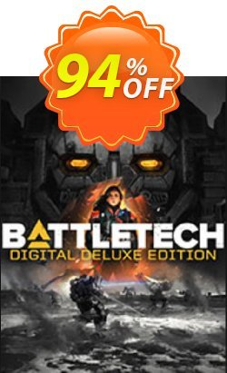 Battletech Deluxe Edition PC Coupon, discount Battletech Deluxe Edition PC Deal. Promotion: Battletech Deluxe Edition PC Exclusive offer for iVoicesoft