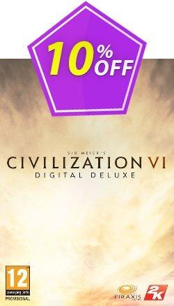 Sid Meier's Civilization VI 6 Digital Deluxe PC - Global  Coupon discount Sid Meier's Civilization VI 6 Digital Deluxe PC (Global) Deal - Sid Meier's Civilization VI 6 Digital Deluxe PC (Global) Exclusive offer for iVoicesoft