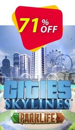 Cities Skylines PC - Parklife DLC Coupon discount Cities Skylines PC - Parklife DLC Deal - Cities Skylines PC - Parklife DLC Exclusive offer for iVoicesoft
