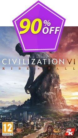 Sid Meier's Civilization VI 6 PC Rise and Fall DLC Coupon discount Sid Meier's Civilization VI 6 PC Rise and Fall DLC Deal - Sid Meier's Civilization VI 6 PC Rise and Fall DLC Exclusive offer for iVoicesoft