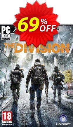 Tom Clancy's The Division PC Coupon, discount Tom Clancy's The Division PC Deal. Promotion: Tom Clancy's The Division PC Exclusive offer for iVoicesoft