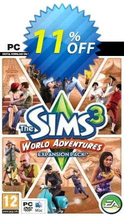 The Sims 3: World Adventures - Expansion Pack - PC/Mac  Coupon discount The Sims 3: World Adventures - Expansion Pack (PC/Mac) Deal - The Sims 3: World Adventures - Expansion Pack (PC/Mac) Exclusive offer for iVoicesoft