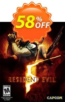 Resident Evil 5 PC Coupon discount Resident Evil 5 PC Deal - Resident Evil 5 PC Exclusive offer for iVoicesoft