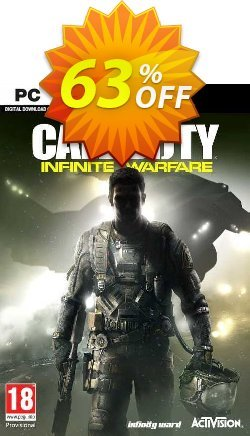 Call of Duty - COD : Infinite Warfare PC Coupon, discount Call of Duty (COD): Infinite Warfare PC Deal. Promotion: Call of Duty (COD): Infinite Warfare PC Exclusive offer for iVoicesoft