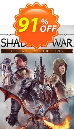 Middle-earth Shadow of War Definitive Edition PC Coupon discount Middle-earth Shadow of War Definitive Edition PC Deal - Middle-earth Shadow of War Definitive Edition PC Exclusive offer for iVoicesoft