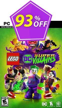 Lego DC Super-Villains PC Coupon discount Lego DC Super-Villains PC Deal. Promotion: Lego DC Super-Villains PC Exclusive offer for iVoicesoft