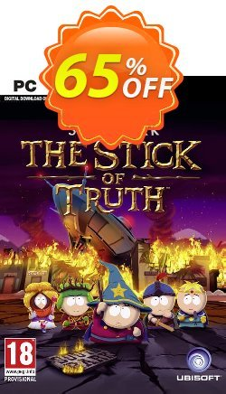 South Park The Stick of Truth PC - Uplay Coupon discount South Park The Stick of Truth PC - Uplay Deal - South Park The Stick of Truth PC - Uplay Exclusive offer for iVoicesoft