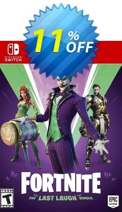 Fortnite: The Last Laugh Bundle Switch - EU  Coupon discount Fortnite: The Last Laugh Bundle Switch (EU) Deal - Fortnite: The Last Laugh Bundle Switch (EU) Exclusive Easter Sale offer for iVoicesoft