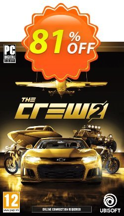 The Crew 2 Gold Edition PC Coupon discount The Crew 2 Gold Edition PC Deal - The Crew 2 Gold Edition PC Exclusive offer for iVoicesoft
