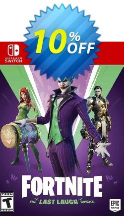 Fortnite: The Last Laugh Bundle Switch - US  Coupon discount Fortnite: The Last Laugh Bundle Switch (US) Deal - Fortnite: The Last Laugh Bundle Switch (US) Exclusive Easter Sale offer for iVoicesoft