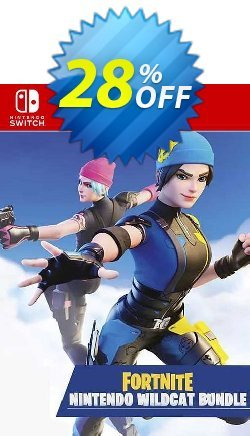Fortnite - Wildcat Bundle Switch - EU  Coupon discount Fortnite - Wildcat Bundle Switch (EU) Deal - Fortnite - Wildcat Bundle Switch (EU) Exclusive Easter Sale offer for iVoicesoft