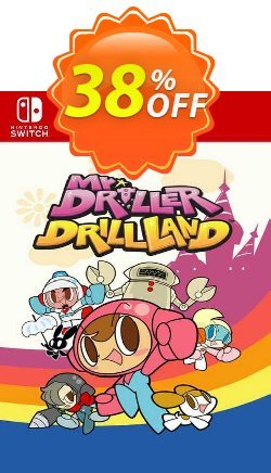 Mr Driller Drilland Switch - EU  Coupon discount Mr Driller Drilland Switch (EU) Deal 2021 CDkeys - Mr Driller Drilland Switch (EU) Exclusive Sale offer for iVoicesoft