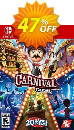 Carnival Games Switch - EU  Coupon discount Carnival Games Switch (EU) Deal 2021 CDkeys - Carnival Games Switch (EU) Exclusive Sale offer for iVoicesoft