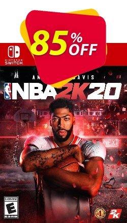 NBA 2K20 Switch - EU  Coupon discount NBA 2K20 Switch (EU) Deal 2021 CDkeys - NBA 2K20 Switch (EU) Exclusive Sale offer for iVoicesoft