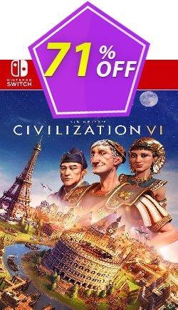Sid Meier's Civilization VI  Switch - EU  Coupon discount Sid Meier's Civilization VI  Switch (EU) Deal 2021 CDkeys - Sid Meier's Civilization VI  Switch (EU) Exclusive Sale offer for iVoicesoft