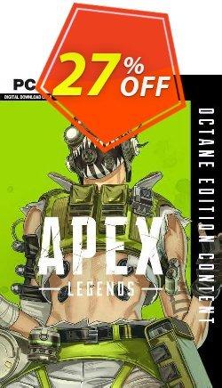Apex Legends - Octane Edition PC Coupon discount Apex Legends - Octane Edition PC Deal 2021 CDkeys - Apex Legends - Octane Edition PC Exclusive Sale offer for iVoicesoft