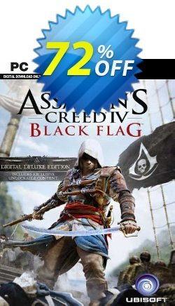 Assassin's Creed IV Black Flag - Deluxe Edition PC - EU  Coupon discount Assassin's Creed IV Black Flag - Deluxe Edition PC (EU) Deal 2021 CDkeys - Assassin's Creed IV Black Flag - Deluxe Edition PC (EU) Exclusive Sale offer for iVoicesoft