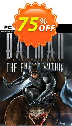 Batman: The Enemy Within - The Telltale Series PC Coupon discount Batman: The Enemy Within - The Telltale Series PC Deal 2021 CDkeys - Batman: The Enemy Within - The Telltale Series PC Exclusive Sale offer for iVoicesoft