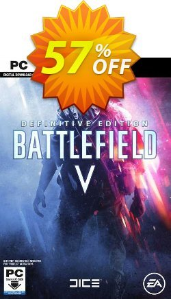 Battlefield V Definitive Edition PC Coupon discount Battlefield V Definitive Edition PC Deal 2021 CDkeys - Battlefield V Definitive Edition PC Exclusive Sale offer for iVoicesoft