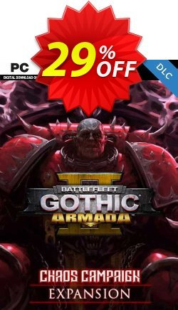 Battlefleet Gothic: Armada 2 - Chaos Campaign Expansion PC Coupon discount Battlefleet Gothic: Armada 2 - Chaos Campaign Expansion PC Deal 2021 CDkeys - Battlefleet Gothic: Armada 2 - Chaos Campaign Expansion PC Exclusive Sale offer for iVoicesoft