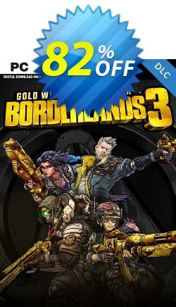 Borderlands 3: Gold Weapon Skins Pack PC -  DLC Coupon discount Borderlands 3: Gold Weapon Skins Pack PC -  DLC Deal 2021 CDkeys - Borderlands 3: Gold Weapon Skins Pack PC -  DLC Exclusive Sale offer for iVoicesoft