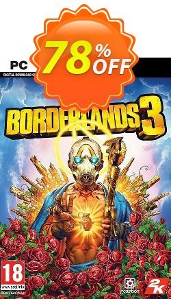 Borderlands 3 - Steam - WW  Coupon discount Borderlands 3 (Steam) (WW) Deal 2021 CDkeys - Borderlands 3 (Steam) (WW) Exclusive Sale offer for iVoicesoft
