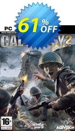 Call of Duty 2 PC Coupon discount Call of Duty 2 PC Deal 2021 CDkeys - Call of Duty 2 PC Exclusive Sale offer for iVoicesoft