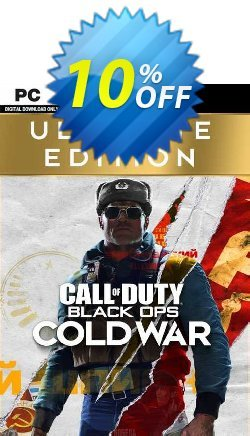 Call of Duty Black Ops Cold War - Ultimate Edition PC - EU  Coupon discount Call of Duty Black Ops Cold War - Ultimate Edition PC (EU) Deal 2021 CDkeys - Call of Duty Black Ops Cold War - Ultimate Edition PC (EU) Exclusive Sale offer for iVoicesoft