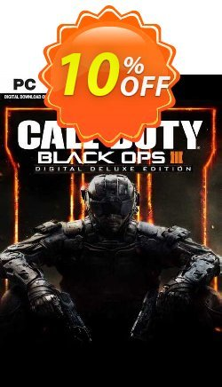 Call of Duty Black Ops III - Deluxe Edition PC Coupon discount Call of Duty Black Ops III - Deluxe Edition PC Deal 2021 CDkeys - Call of Duty Black Ops III - Deluxe Edition PC Exclusive Sale offer for iVoicesoft