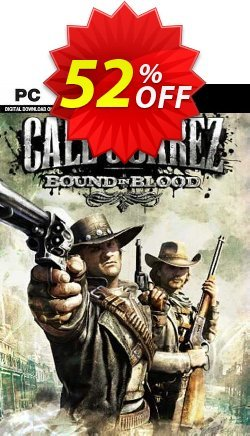 Call of Juarez - Bound in Blood PC Coupon discount Call of Juarez - Bound in Blood PC Deal 2021 CDkeys - Call of Juarez - Bound in Blood PC Exclusive Sale offer for iVoicesoft