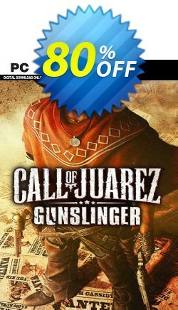 Call of Juarez: Gunslinger PC - EU  Coupon discount Call of Juarez: Gunslinger PC (EU) Deal 2021 CDkeys - Call of Juarez: Gunslinger PC (EU) Exclusive Sale offer for iVoicesoft