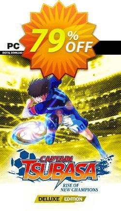 Captain Tsubasa: Rise of New Champions Deluxe Edition PC + Bonus Coupon discount Captain Tsubasa: Rise of New Champions Deluxe Edition PC + Bonus Deal 2021 CDkeys. Promotion: Captain Tsubasa: Rise of New Champions Deluxe Edition PC + Bonus Exclusive Sale offer for iVoicesoft