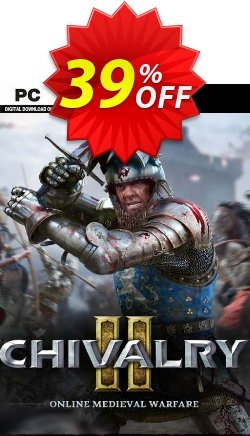 Chivalry 2 + Beta PC Coupon discount Chivalry 2 + Beta PC Deal 2021 CDkeys. Promotion: Chivalry 2 + Beta PC Exclusive Sale offer for iVoicesoft