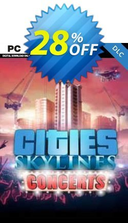 Cities Skylines - Concerts DLC Coupon discount Cities Skylines - Concerts DLC Deal 2021 CDkeys - Cities Skylines - Concerts DLC Exclusive Sale offer for iVoicesoft