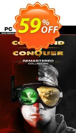 Command and Conquer Remastered Collection PC - Steam  Coupon discount Command and Conquer Remastered Collection PC (Steam) Deal 2021 CDkeys - Command and Conquer Remastered Collection PC (Steam) Exclusive Sale offer for iVoicesoft