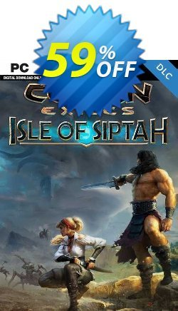 Conan Exiles: Isle of Siptah PC - DLC Coupon discount Conan Exiles: Isle of Siptah PC - DLC Deal 2021 CDkeys - Conan Exiles: Isle of Siptah PC - DLC Exclusive Sale offer for iVoicesoft