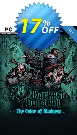 Darkest Dungeon: The Color Of Madness PC - DLC Coupon discount Darkest Dungeon: The Color Of Madness PC - DLC Deal 2021 CDkeys - Darkest Dungeon: The Color Of Madness PC - DLC Exclusive Sale offer for iVoicesoft