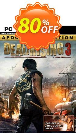 Dead Rising 3: Apocalypse Edition PC - EU  Coupon discount Dead Rising 3: Apocalypse Edition PC (EU) Deal 2021 CDkeys - Dead Rising 3: Apocalypse Edition PC (EU) Exclusive Sale offer for iVoicesoft