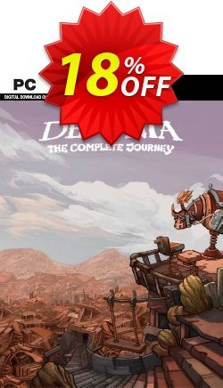 Deponia The Complete Journey PC Coupon discount Deponia The Complete Journey PC Deal 2021 CDkeys - Deponia The Complete Journey PC Exclusive Sale offer for iVoicesoft