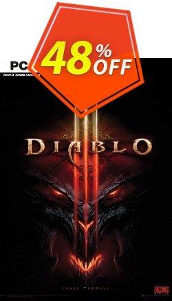 Diablo III PC - EU  Coupon discount Diablo III PC (EU) Deal 2021 CDkeys - Diablo III PC (EU) Exclusive Sale offer for iVoicesoft