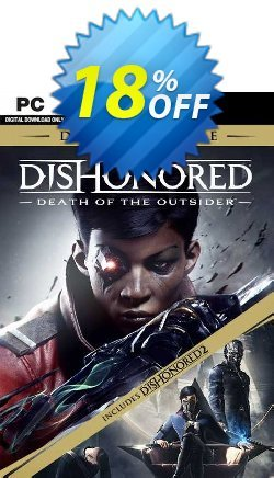 Dishonored: Death of the Outsider - Deluxe Bundle PC Coupon discount Dishonored: Death of the Outsider - Deluxe Bundle PC Deal 2021 CDkeys - Dishonored: Death of the Outsider - Deluxe Bundle PC Exclusive Sale offer for iVoicesoft