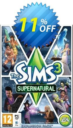 The Sims 3: Supernatural Mac/PC Coupon discount The Sims 3: Supernatural Mac/PC Deal - The Sims 3: Supernatural Mac/PC Exclusive offer for iVoicesoft