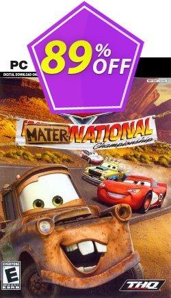 Disney Pixar Cars Mater-National Championship PC Coupon discount Disney Pixar Cars Mater-National Championship PC Deal 2021 CDkeys - Disney Pixar Cars Mater-National Championship PC Exclusive Sale offer for iVoicesoft