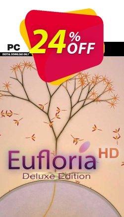 Eufloria HD Deluxe Edition PC Coupon discount Eufloria HD Deluxe Edition PC Deal 2021 CDkeys - Eufloria HD Deluxe Edition PC Exclusive Sale offer for iVoicesoft