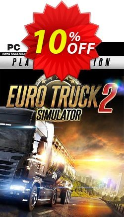 Euro Truck Simulator 2 Platinum Edition PC Coupon discount Euro Truck Simulator 2 Platinum Edition PC Deal 2021 CDkeys - Euro Truck Simulator 2 Platinum Edition PC Exclusive Sale offer for iVoicesoft