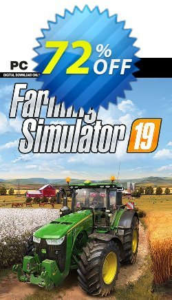 Farming Simulator 19 PC Coupon discount Farming Simulator 19 PC Deal - Farming Simulator 19 PC Exclusive offer for iVoicesoft