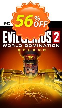 Evil Genius 2: World Domination Deluxe Edition PC Coupon discount Evil Genius 2: World Domination Deluxe Edition PC Deal 2021 CDkeys. Promotion: Evil Genius 2: World Domination Deluxe Edition PC Exclusive Sale offer for iVoicesoft