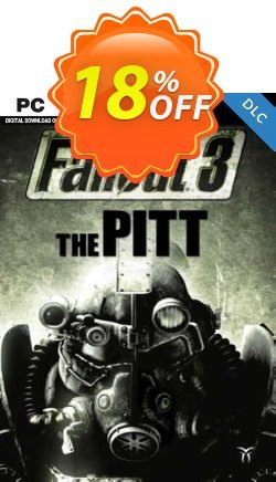 Fallout 3  The Pitt PC Coupon discount Fallout 3  The Pitt PC Deal 2021 CDkeys - Fallout 3  The Pitt PC Exclusive Sale offer for iVoicesoft